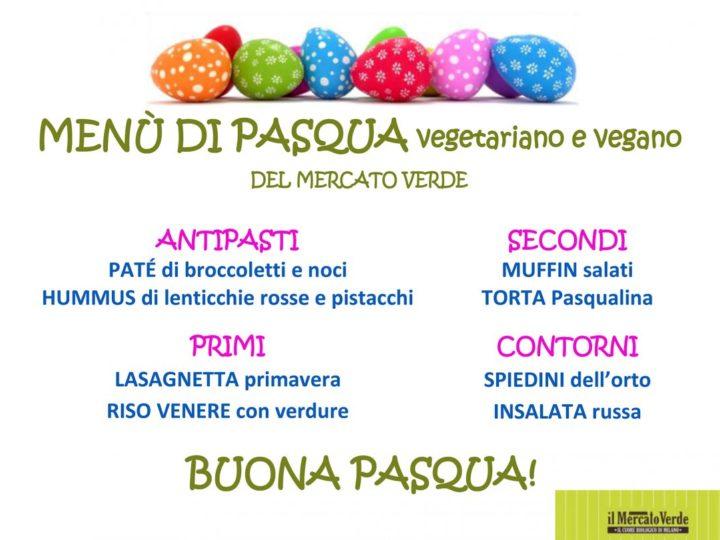 Menù di Pasqua vegetariano e vegano