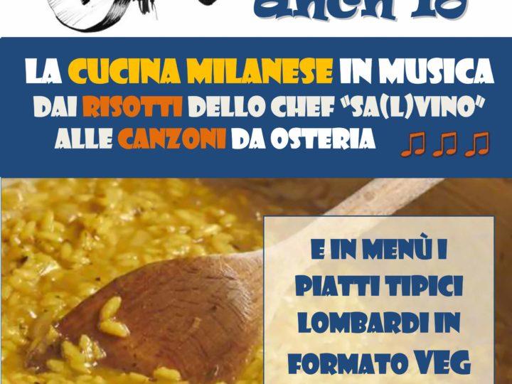 La cucina milanese (veg) in musica