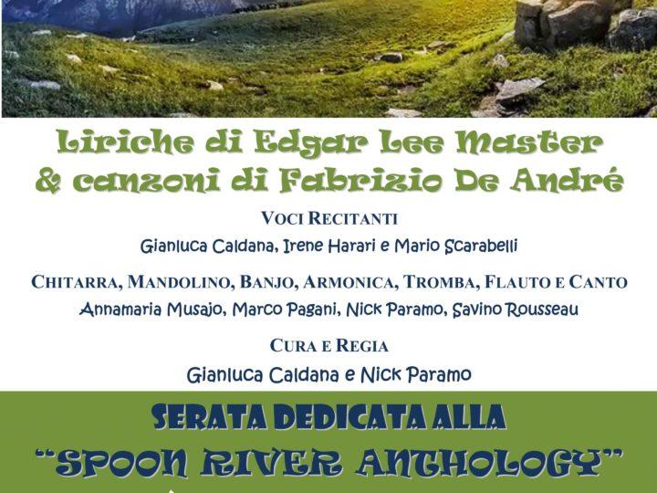 Venerdì 16 giugno 2017: serata dedicata alla Spoon River Anthology
