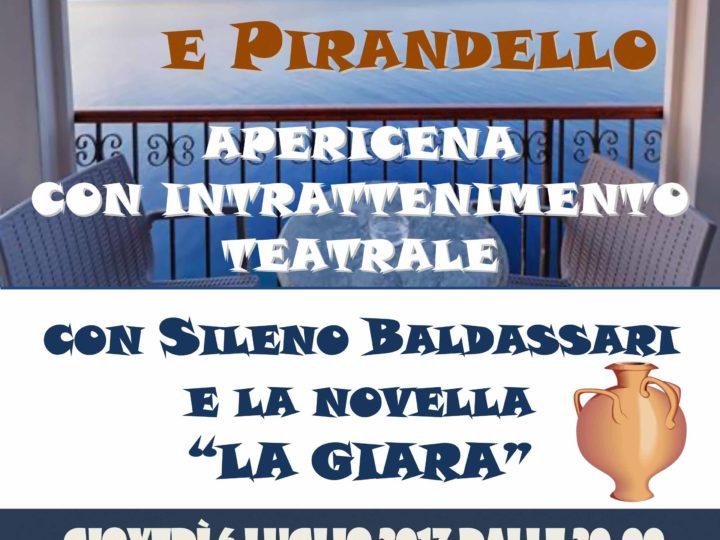 """Giovedì 6 luglio 2017, Teatro-cena: """"La Sicilia e Pirandello"""""""
