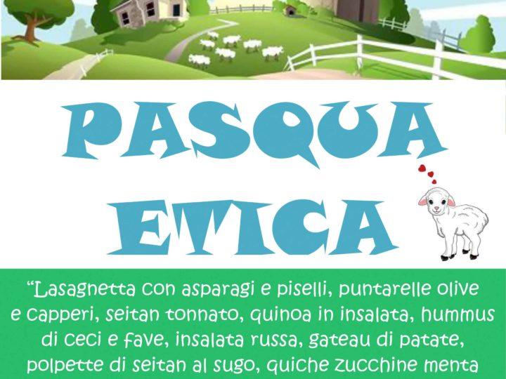 """Venerdì 19 aprile 2019, ore 20: """"Pasqua etica"""" (buffet veg del venerdì di Pasqua)"""