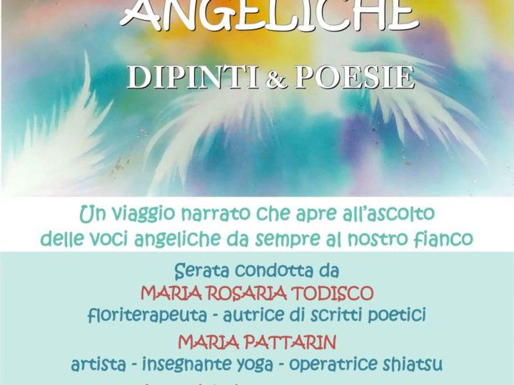 """Venerdì 13 dicembre 2019, ore 20: """"Vibrazioni angeliche"""" (serata con buffet)"""