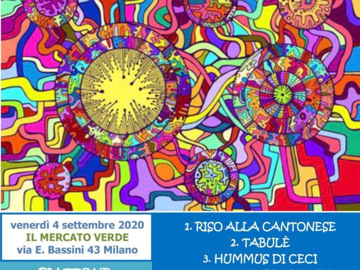 """Venerdì 4 settembre 2020: """"Cena etnica sotto le stelle"""""""