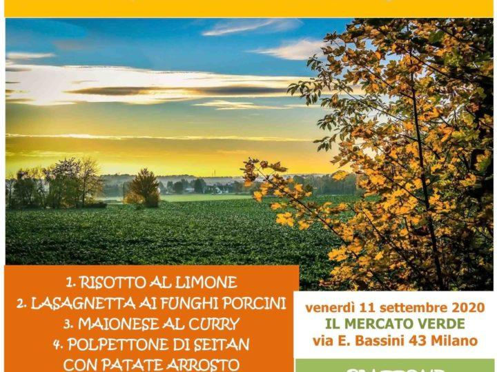 Venerdì 11 settembre 2020 ore 20 al Mercato Verde: è di scena il risotto (ma non solo)!