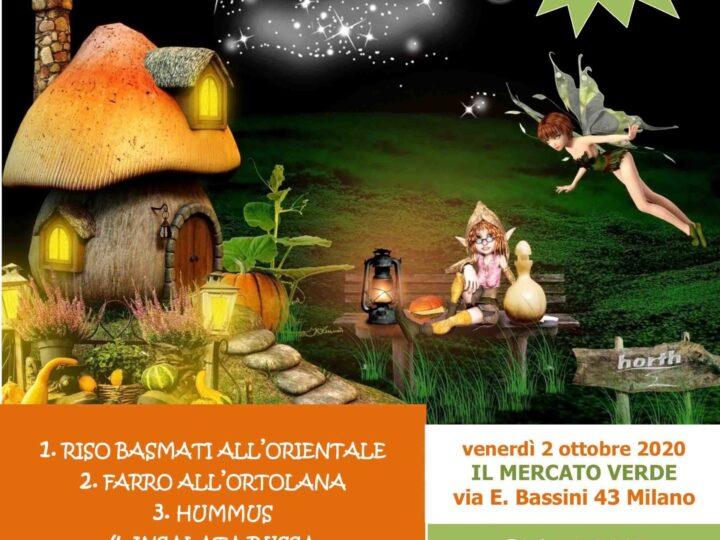 """Venerdì 2 ottobre 2020 ore 20: """"Magie di autunno al Mercato Verde"""""""